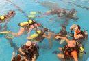Se realizó una nueva jornada de buceo inclusivo