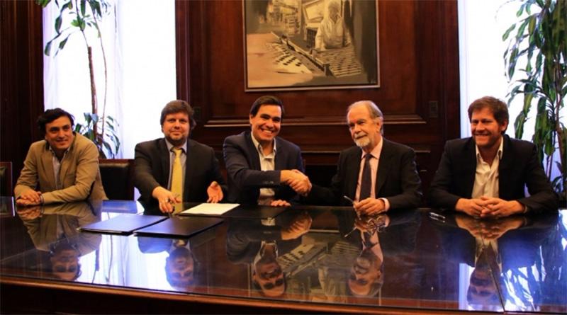 El Ministerio de Producción bonaerense y el Banco Nación firman un convenio de apoyo a las PyMEs