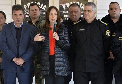 """María Eugenia Vidal anunció importantes avances en la reforma integral de la Policía Bonaerense """"Para que la gente esté más segura"""""""