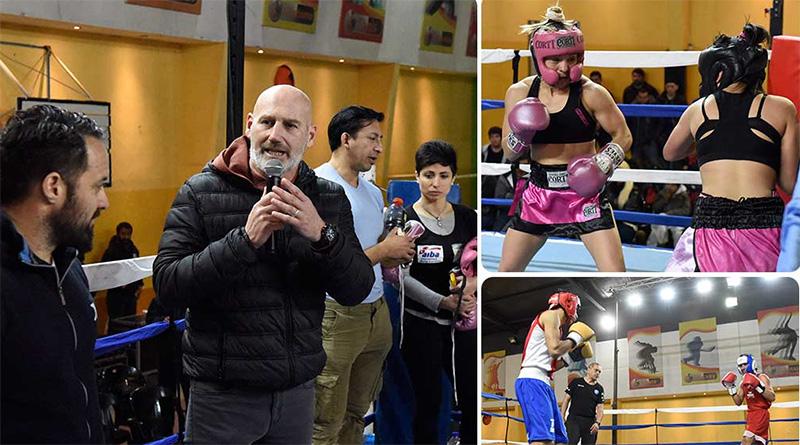 Gran exhibición de boxeo y kick boxing en Malvinas Argentinas
