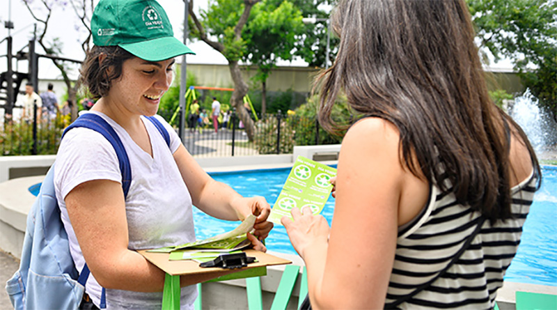 """Dos años de """"Día Verde"""" en Vicente López"""