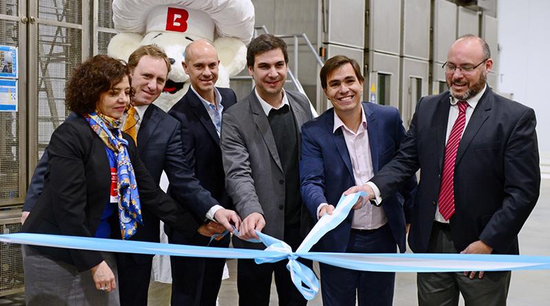 San Fernando acompañó la inauguración de la ampliación de la planta de Bimbo