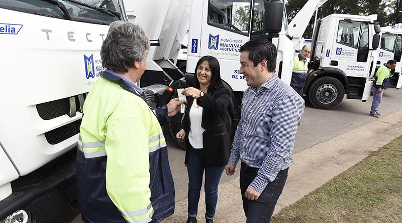 Malvinas Argentinas incrementa su flota de vehículos