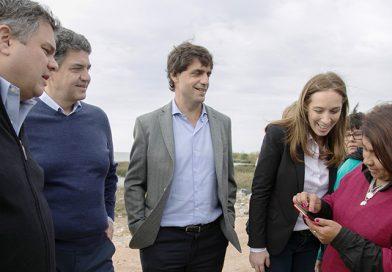Jorge Macri y Maria Eugenia Vidal anunciaron medidas sociales para la provincia