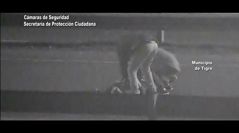 Impactante golpiza filmada por las cámaras del COT