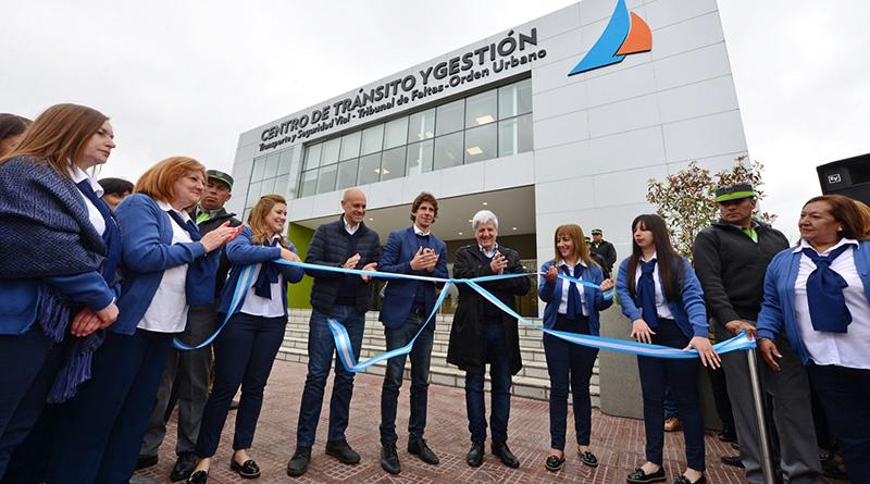 Andreotti inauguró el nuevo Centro de Tránsito y Gestión de San Fernando