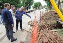 Tigre continúa con el tendido de red de gas en Las Tunas