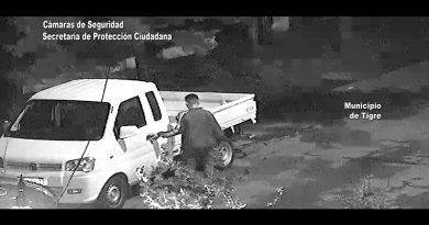"""Detuvieron al """"Manguerita"""" por robar en una casa de Don Torcuato"""