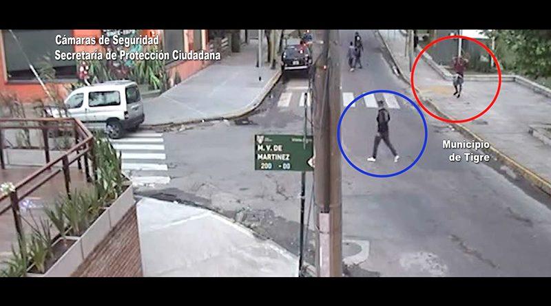"""Tres """"pirañas"""" robaron zapatillas a un joven y fueron detenidos gracias a la tecnología del COT"""