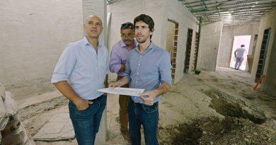 San Fernando construye un nuevo Vacunatorio Municipal