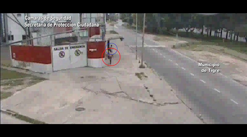 Robó el celular de una mujer, huyó y fue detenido por el COT