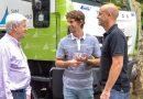 Andreotti sumó nuevos camiones a la flota del Municipio