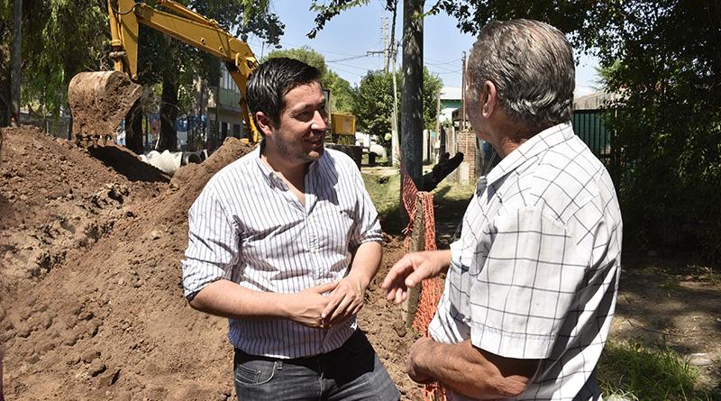 Calle Seaver: importante obra de hidráulica y pavimento en Malvinas Argentinas