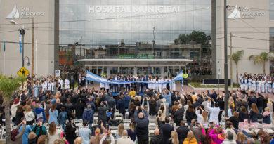 En un hito histórico, Luis Andreotti inauguró el Hospital Municipal de San Fernando