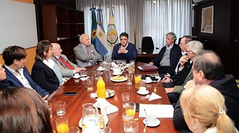 El intendente Jorge Macri se reunió con la Comisión Especial encargada de llevar adelante el proyecto de Museo Histórico y Archivo Documental de Vicente Lopez