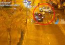 Las Patrullas Municipales detienen a dos motociclistas que hacían picadas y chocaron un auto