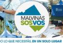 """""""Malvinas sos vos"""" en Los Polvorines"""