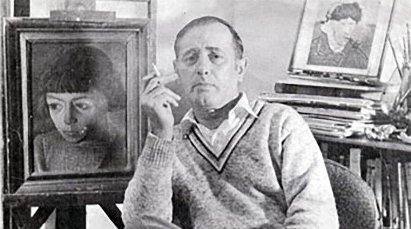 """Aniano Lisa, pintor: """"Pasó por la vida dejando una bella obra"""""""