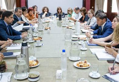 Kicillof y Trotta definieron una agenda educativa conjunta
