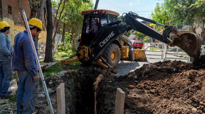Obra cloacal beneficiará a 8 mil vecinos de Boulogne y Villa Adelina