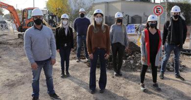 Malena Galmarini puso en marcha obras de cloacas para 12.000 vecinos en Gral Pacheco