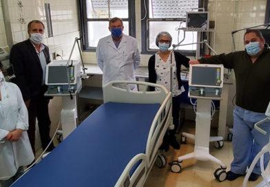 Salud sumó cerca de 500 respiradores nuevos en hospitales de la provincia para el tratamiento de pacientes con coronavirus