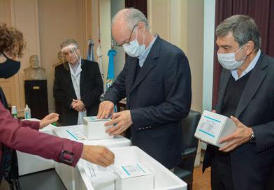 La Provincia recibió 6 mil kits para el diagnóstico de inmunidad