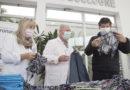 Donan cofias para las enfermeras de los tres hospitales municipales