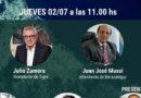 """Julio Zamora y Juan J. Mussi: """"el COVID en los municipios del AMBA"""""""