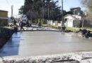 Los Polvorines: nuevos pavimentos en barrio El Sol
