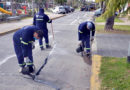 Tigre realiza nuevos trabajos de mantenimiento vial en el centro de la ciudad