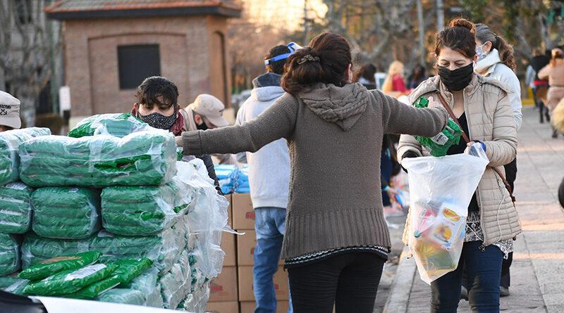 En la cuarentena ya se entregaron 150.000 bolsones del Servicio Alimentario Escolar de San Fernando