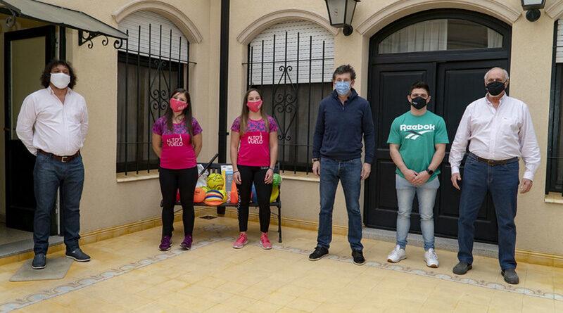 Gustavo Posse recibió a participantes de losjuegosvirtualesSan Isidro 2020