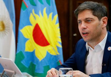 Kicillof y Simone firmaron convenios para 60 obras en 44 municipios