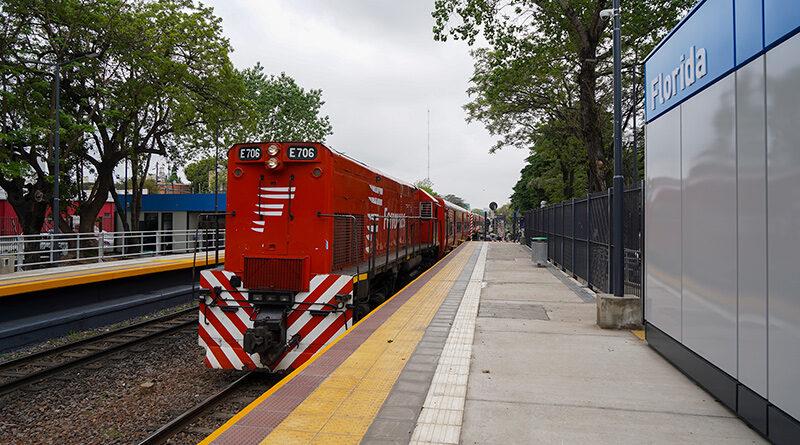 Renovación de la estación Florida del Belgrano Norte