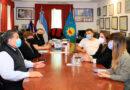 El intendente Ishii recibió a funcionarias del ministerio de desarrollo social de la nación