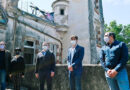 Juan Andreotti firmó un convenio con AABE para restaurar el histórico Palacio Otamendi