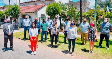 """Malena Galmarini inauguró la red de agua potable para el barrio """"El Progreso"""" en Benavídez"""