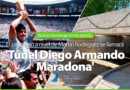 Juan Andreotti anunció que se llamará 'Diego A. Maradona' el Túnel de la calle Martín Rodríguez
