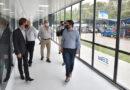 Nardini visitó la planta de Laboratorio Elea