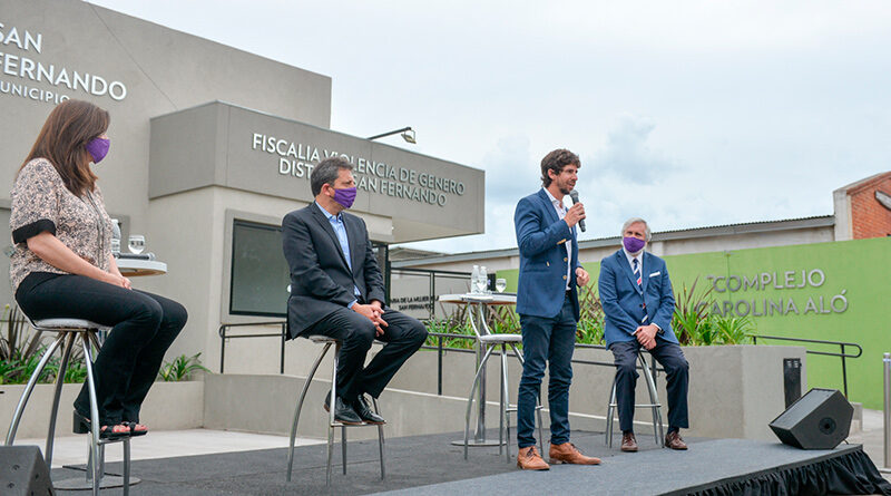 Andreotti y Massa inauguraron la Fiscalía y Comisaría de la Mujer y la Familia de San Fernando
