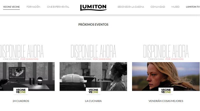 Nueva programación en la plataforma Lumiton