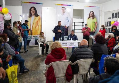 Jorge Macri junto a precandidatos visitó a emprendedores de Moreno y Luján