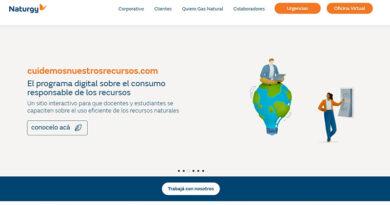 Naturgy presenta su nuevo sitio web