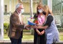 Día del Maestro: Julio y Gisela Zamora reconocieron la labor de docentes de Tigre en la Casa Museo Sarmiento del Delta