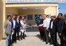 El intendente Mario Ishii inauguró la escuela de Educación Técnica Nº 4