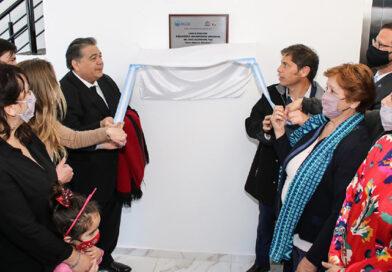 El intendente Mario Ishii inauguró junto a Kicillof el nuevo edificio de biblioteca de la UNPAZ